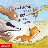 Vom Fuchs, der ein Reh sein wollte, 3 Audio-CDs Cover