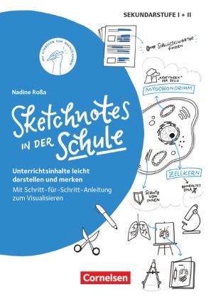 Sketchnotes in der Schule (2. Auflage) - Unterrichtsinhalte leicht darstellen und merken. Mit Schritt-für-Schritt-Anleit