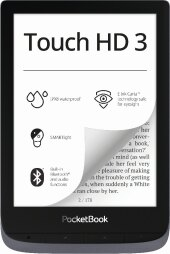Pocketbook Touch HD 3 metallic grey, E-Book Reader