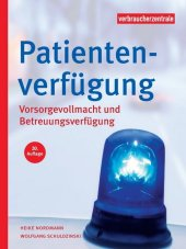 Patientenverfügung Cover
