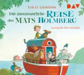 Die abenteuerliche Reise des Mats Holmberg, 2 Audio-CDs Cover
