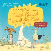 Trudel Gedudel purzelt vom Zaun, 1 Audio-CD Cover