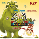 Fjelle und Emil - Monstermäßig beste Freunde, 2 Audio-CDs Cover