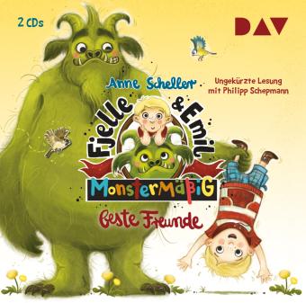 Fjelle und Emil - Monstermäßig beste Freunde, 2 Audio-CDs