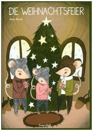Weihnachtsfeier Cartoon.Die Weihnachtsfeier Anja Sturm 9783943547351 Bücher Comics