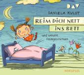 Reim dich nett ins Bett und weitere Reimgeschichten, 1 Audio-CD Cover