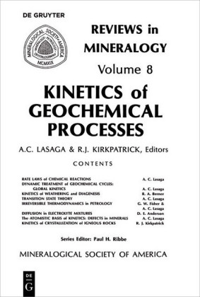 Kinetics of Geochemical Processes