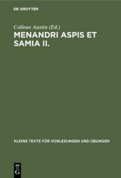 Menandri Aspis et Samia II.