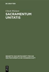 Sacramentum Unitatis
