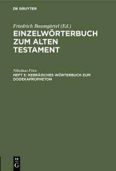 Hebräisches Wörterbuch zum Dodekapropheton
