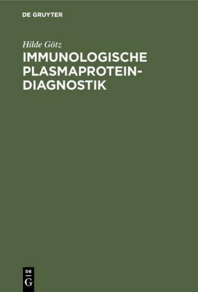Immunologische Plasmaprotein-Diagnostik