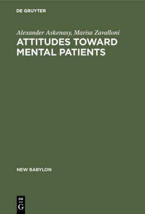 Attitudes toward mental patients