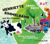 Henriette Bimmelbahn und ihre Freunde, 1 Audio-CD Cover