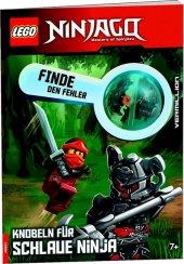 LEGO® NINJAGO® Finde den Fehler, Knobeln für schlaue Ninja, m. 1 Beilage Cover