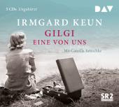 Gilgi - eine von uns, 5 Audio-CDs Cover