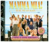 Mamma Mia! Here We Go Again, 2 Audio-CDs (Soundtrack + Singalong Version) Cover