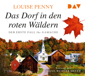 Cover des Mediums: Das Dorf in den roten Wäldern
