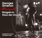 Maigret im Haus der Unruhe, 4 Audio-CDs Cover