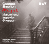 Maigret und Inspektor Griesgram, 1 Audio-CD Cover