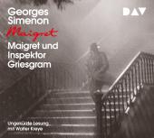 Maigret und Inspektor Griesgram, 1 Audio-CD Cover