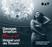 Maigret und die Tänzerin, 4 Audio-CDs Cover