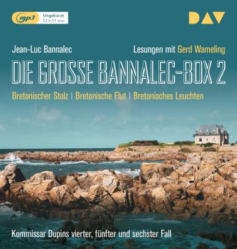 Die große Bannalec-Box 2, 3 Audio-CD,