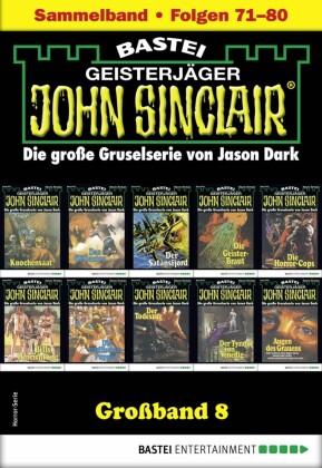John Sinclair Großband 8 - Horror-Serie