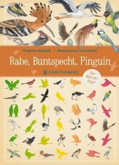 Rabe, Buntspecht, Pinguin