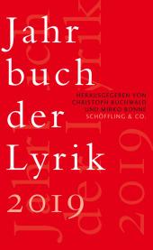 Jahrbuch der Lyrik 2019 Cover