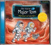 Der kleine Major Tom - Abenteuer auf dem Mars, 1 Audio-CD Cover