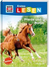 Was ist was Erstes Lesen: Pferde und Ponys Cover
