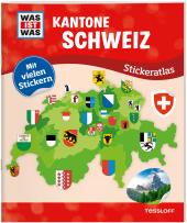 Kantone Schweiz Stickeratlas