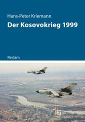 Der Kosovokrieg 1999 Cover