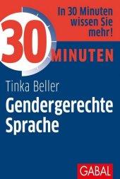 30 Minuten Gendergerechte Sprache Cover