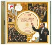 Neujahrskonzert 2019 / New Year's Concert 2019, 2 Audio-CDs Cover