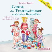 Conni, das Traumzimmer und andere Baustellen, 2 Audio-CDs Cover