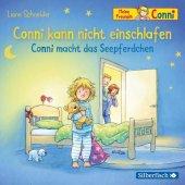 Conni kann nicht einschlafen / Conni macht das Seepferdchen, 1 Audio-CD Cover