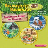 Fantastische Reisen ins Tierreich. Die Hörbuchbox, 3 Audio-CDs
