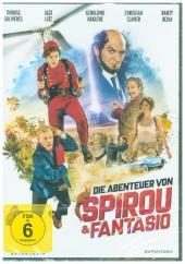 Die Abenteuer von Spirou & Fantasio, 1 DVD Cover