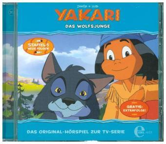 Yakari - Das Wolfsjunge, 1 Audio-CD