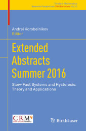 Extended Abstracts Summer 2016