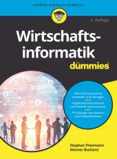 Wirtschaftsinformatik für Dummies Cover