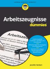Arbeitszeugnisse für Dummies Cover