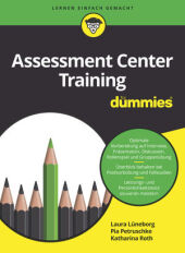 Assessment Center Training für Dummies Cover
