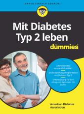 Mit Diabetes Typ 2 leben für Dummies Cover