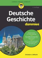 Deutsche Geschichte für Dummies Cover