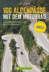 100 Alpenpässe mit dem Motorrad Cover
