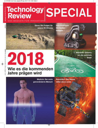 Technology Review Special 2018