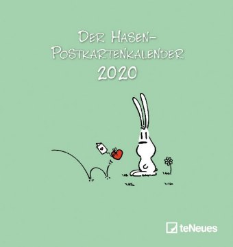 Der Hasen-Postkartenkalender 2020