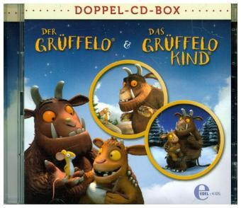 Grüffelo-Doppel-CD-Box, 2 Audio-CDs